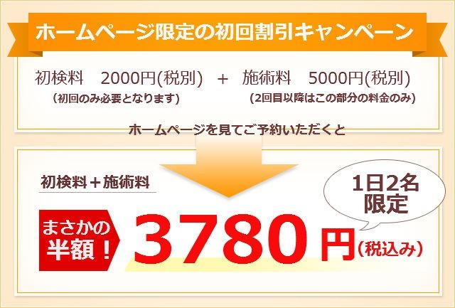 7000円がまさかの半額!