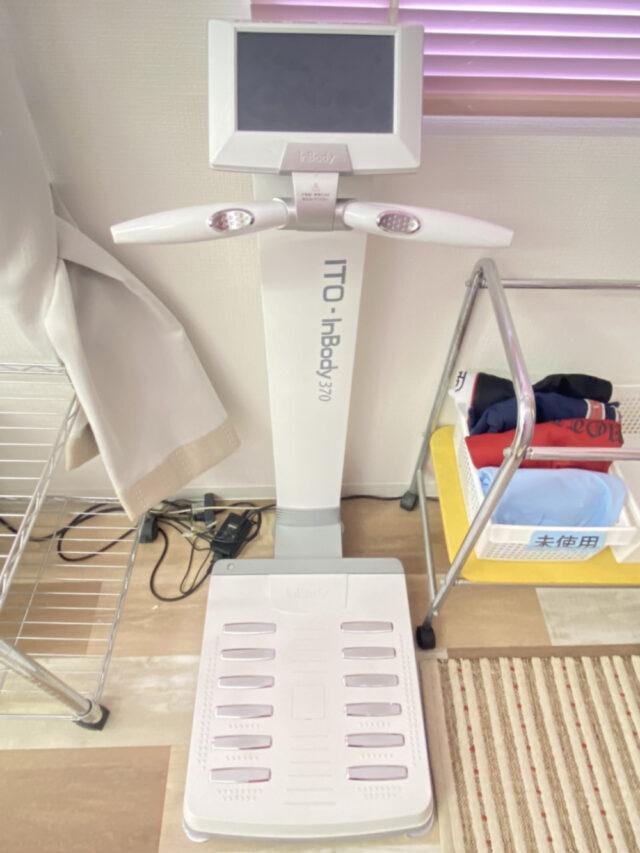④In Body(高精度体成分分析装置)